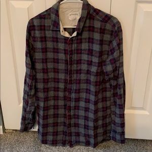 On the Byas long sleeve casual button down